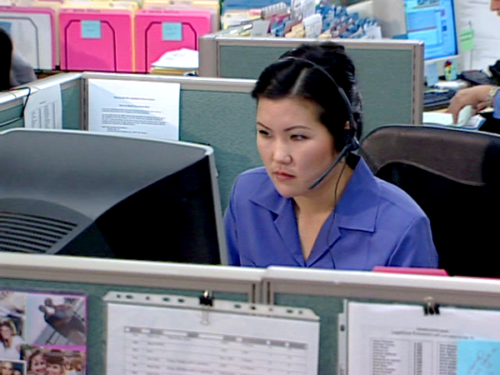 Customer service means solving problems